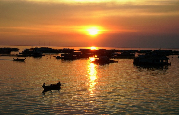 Special Sun Set Tour Floating Village