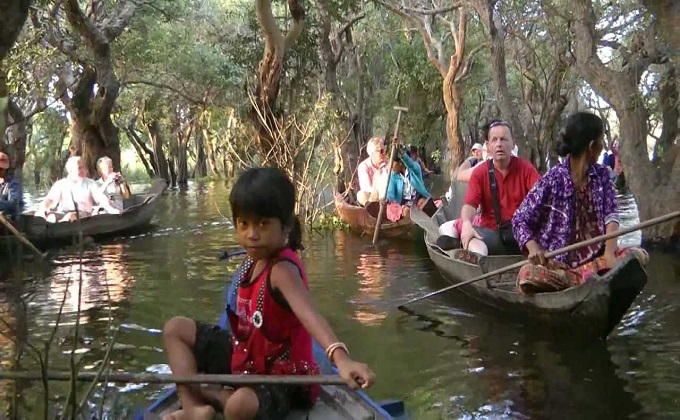 Kompong Phluk (Floating forest)