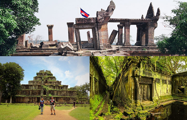 2/Day 1/Night Preah Vihear-Koh Ker-Beng Mealea Temple Tour